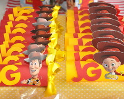 Barrinha de chocolate - Toy Story
