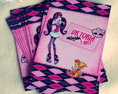 R�tulo monster high 10x7