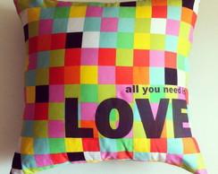 :: Almofada - Dupla Face Love::