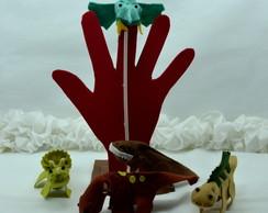 kit festa infantil dedoches dinossauros