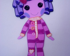 "BONECAS LALALOOPSY "" PILOW "" - PAINEL"