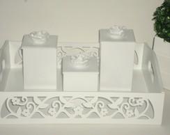 Kit Higiene proven�al rosas 5