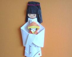 Marcador de P�ginas em Origami Pediatra