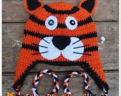 Touca de Croch� Tigre