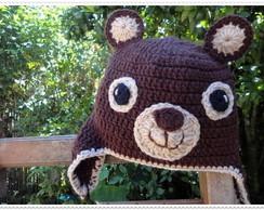 Touca de Croch� Ursinho