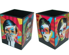 Porta l�pis Pop Art