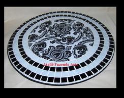Tampo giratorio de mosaico