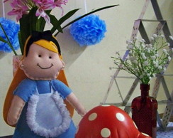 Loca��o personagens Alice no pa�s das ma