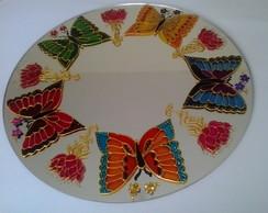 Mandala Jardim de borboletas MP-163