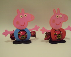 Porta Bombom Peppa Pig/Lembrancinha