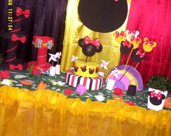 kit festa mickey e minnie b�sico