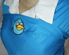 Wrap Sling dry fit azul Angry Birds