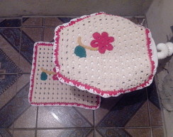 Conjunto de Tapetes com 4 pe�as