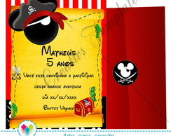 Kit Festa Mickey Pirata ( Arte)