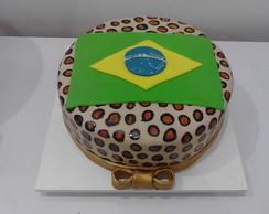 Bolo oncinha do Brasil!