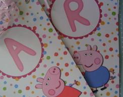 Bandeirola Peppa Pig