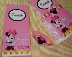 Card�pio ou Menu Minnie