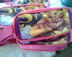 Estojo Escolar Rapunzel
