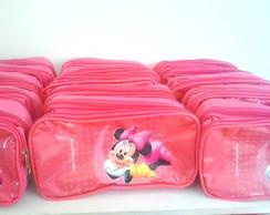 Estojo Escolar Minei e Mickey