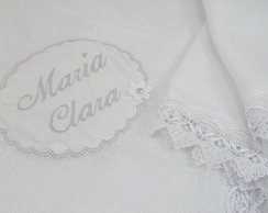 Kit Manta Fralda Luxo Personalizado