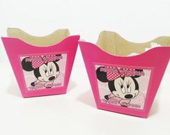 Cachepo de papel�o grande Minnie