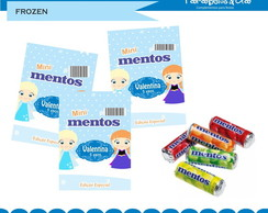 Adesivos Mini mentos Frozen