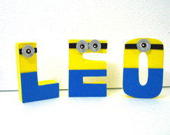 Letras Decorativas Personalizadas - Unit
