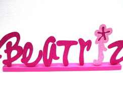 Letras Barbie Personalizadas - Unit