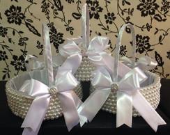 Conjunto de cestas para floristas