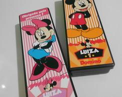 Domin� Personalizado Mickey e Minnie