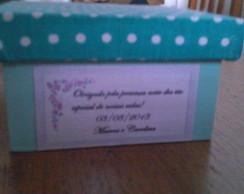 Caixa de MDF