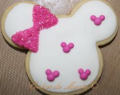 Cookies Decorados - Minnie Rosa