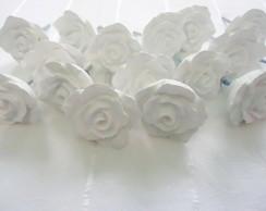 Puxadores de Rosa em Resina