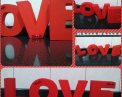 Letras Decorativas 3D LOVE