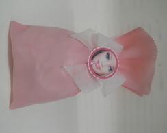 saco tnt rosa 25x15 barbi e, outros tema