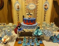 Aluguel de Bolo decorativo Frozen