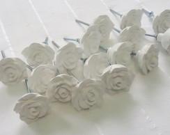 Puxadores de rosas proven�al 5x5cm