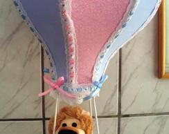 Lustre Infantil Rosa e Azul
