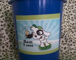 Balde de Pipoca Doki 1 litro