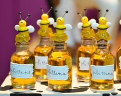 Vidrinho para mel abelha