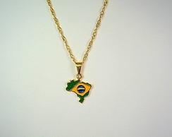 PINGENTE MAPA BRASIL