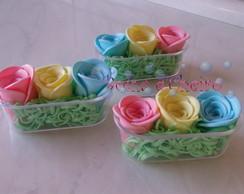 50 Banheirinhas com Rosas de Sabonete