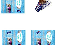 Rotulo  Chocolate Bis  Frozen
