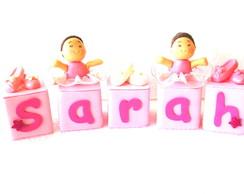 Cubinhos De Nomes Bailarina