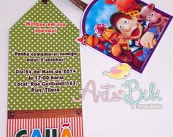 Convite Cocoric� Marca Paginas