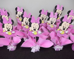 centro de mesa minnie baby com 20 pe�as