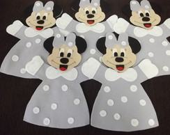 fantoche minnie kit com 10 pe�as