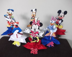 centro de mesa disney kit com 20 pe�as