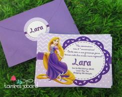 Convite Rapunzel Enrolados
