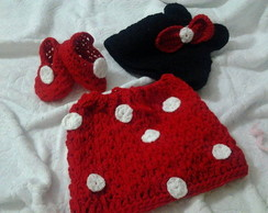 Conjunto Minnie Croch� New Born